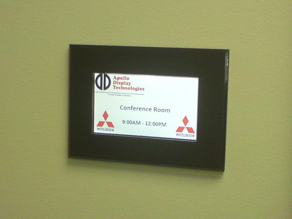 Hotel And Office Signage Get A Digital Makeover For The St - Conference room door signs for offices