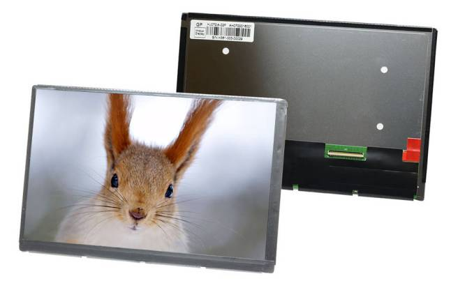 "Innolux HJ070IA-02F 7"" TFT-LCD Display with IPS  technology"